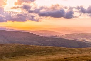 Sunset over Pen Y Fan